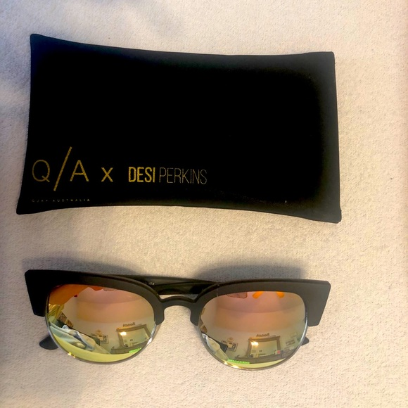 Cat Eye (Desi Perkins) Quay Sunglasses